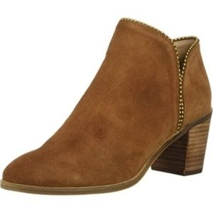 Lucky Brand Cedar Pincah Ankle Zip Boot Booties 10